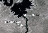 Haditha Region Satellite Image